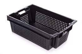 Ящик пластиковый перфорированный 600х400х200, фото 2