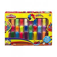 Набор пластилина Hasbro Play-Doh Радуга 33 оттенка