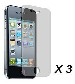 """Защитная пленка  для iPhone 4/4S """"3 в 1"""""""