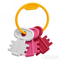 Игрушка-погремушка Chicco Розовые ключики