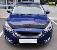Дефлекторы капота Sim для Ford Focus III 2014
