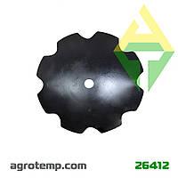 Диск ромашка устанавливается на вал батареи бороны БДТ-7 БДЮ-01.405 (Велес бор)