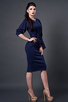 Нарядное платье длиной за колено