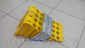Противооткатное пристрій (черевик), 474 мм, з утримувачем