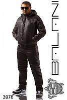 Зимний мужской костюм на синтепоне от 48 до 54 размера (2 цвета)