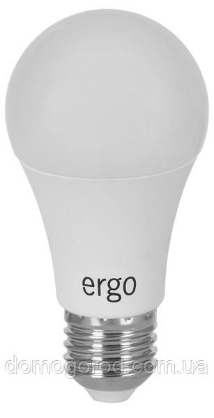 Lamp ERGO Standard A60 Е27 12W 220V Тепл.Бел. 3000K Мат. н/Дим.