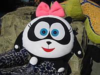 Мягкая игрушка - подушка Смешарик панда Панди ручная работа