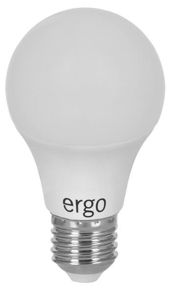 Lamp ERGO Standard A60 Е27 6W 220V Тепл.Бел. 3000K Мат. н/Ди