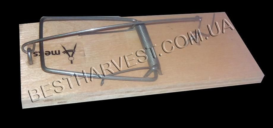Мышеловка 135х58мм (большая), деревянная механическая, фото 2