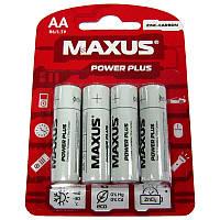 Батарейка       R6  Maxus PowerPlus blister по 4шт