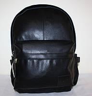 Городской рюкзак искусственная кожа черный