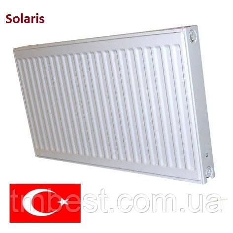 Радіатор сталевий Solaris 500*500 22 ТИП (Туреччина), фото 2
