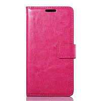 Чехол книжка для LG G3S BEAT D724, D722, D725, D728 боковой с отсеком для визиток, Розовый