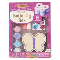 Шкатулка-Бабочка набор Melissa & Doug Butterfly Chest MD8853 (MD8853)