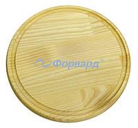 Доска деревянная для пиццы ДП240 (24 см)