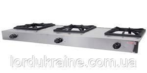 Плита газовая промышленная 3-х конфорочная Pimak PLKO 003