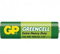 Батарейка GP 15G-S2 Greencell R6, AA, трей 40/200