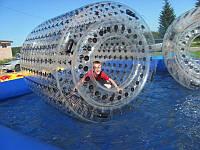 Водный Шар, Зорб, Аквазорб атракцион материал толщина 0.9мм диаметр 4 диаметра