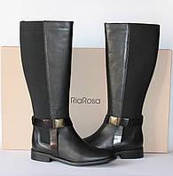 Шикарные кожаные сапоги RiaRosa, Италия-Оригинал