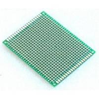 Плата для макетирования двухсторонняя (5х7 см)