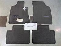 Toyota Tundra 2004-06 (большие задние двери) коврики велюровые серые передние задние новые оригинальные