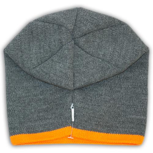 Защип на вязаной шапке