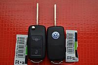 Ключ выкидной volkswagen transporter, caddy 2 кнопки 434Mhz id48. 1JO 959 753 CT