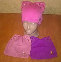 Стильная шапка для девочек, фото 1