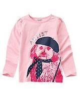 Реглан  детский для девочки Crazy8, размер L (на 10-12 лет), детские футболки для девочек