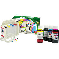 СНПЧ ColorWay E404CN-4.1NCL Canon PIXMA Ink Efficiency E404, Ink Efficiency E464, Canon PG-46 / CLI-56 Canon P