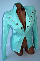 Пиджак 8 пуговиц SL-8566 №19 (мятный), фото 1