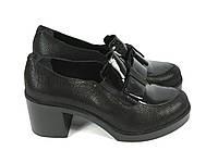Стльнные кожаные туфли