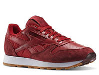 "Кроссовки мужские Reebok Classic Leather Perfect Split Pack ""Flash Red"""