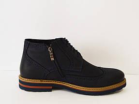 Ботинки зимние мужские синие Faber 177211 , фото 3