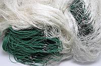 Сеть рыболовная (нитка, трехстенка )длина 100 высота 3 м ячейка 85