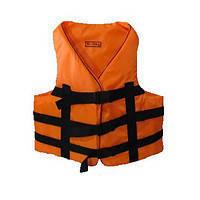 Водный спасательный жилет 110-130 кг (оранжевый)