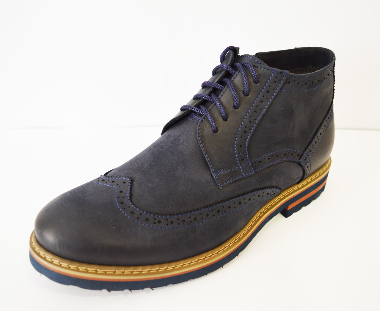 Ботинки зимние мужские синие Faber 177211