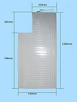 Испаритель плачущий HR  NEW  (55/110) для переделки ларей