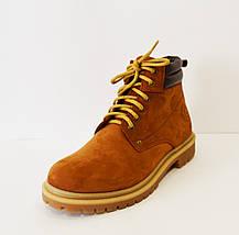 Ботинки мужские рыжие Faber 163413, фото 2
