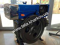 Двигатель ТАТА Витязь ZH1100 - двигатель 15л.с. + стартер(Zubr)