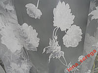 Тюль гардина органза печатка ( al -143 )