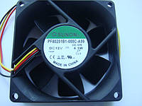 Вентилятор 8см SUNON PF80251B1-000C-A99 12v 4.1w для голов, усилителей