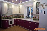 Кухни с фасадами МДФ крашеный под заказ в Сумах