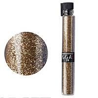 Пыльные блестки для декора ногтей GGA Professional № 29