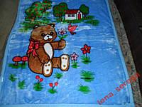 Одеяло покрывало плед в коляску 90х110 разные цвет