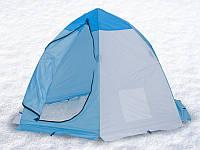 Палатка зимняя, на алюминиевом каркасе СТЭК 2 местная