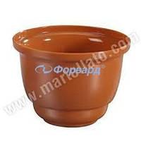Набор горшков для изделий из шоколада 100 шт Martellato PMOVA002 (d 72 мм, h 51 мм)