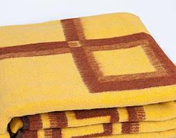 Жаккардовое шерстяное одеяло Vladi (140х205)