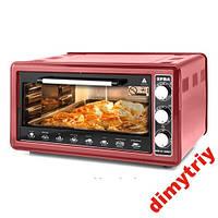 Электрическая печь духовка EFBA 3003T красная