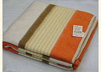 Шерстяное одеяло Vladi Полоса 02 (140х205)